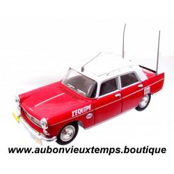 NOREV  1/43  PEUGEOT 404 - L'EQUIPE - TOUR DE FRANCE