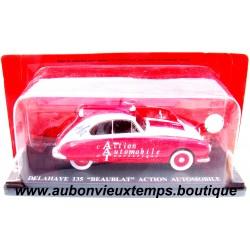 """IXO  1/43  DELAHAYE 135 """"BEAUBLAT"""" ACTION AUTOMOBILE - TOUR DE FRANCE  1953"""