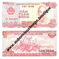 500 DONG 1988 - VIET NAM