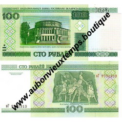 100 ROUBLES 2000 - BIELORUSSIE