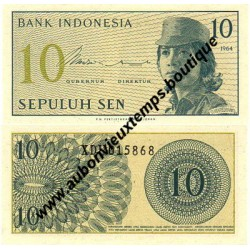 10 SEN 1964 - INDONESIE