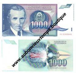 1000 DINARA 1991 - YOUGOSLAVIE