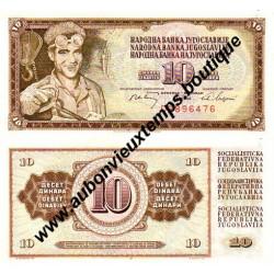 10 DINARA 1978 - YOUGOSLAVIE