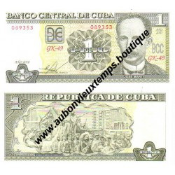 1 PESO 2010 - CUBA