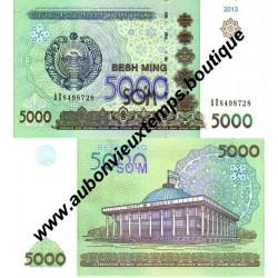 5000 SUM 2013 - OUZBEKISTAN