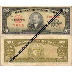 20 PESOS 1949 - CUBA