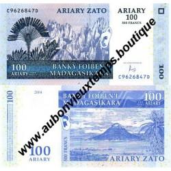 100 ARIARY 2004 - MADAGASCAR