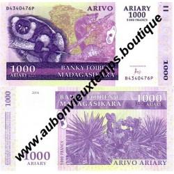 1000 ARIARY 2004 - MADAGASCAR
