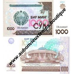 1000 SUM 2001 - OUZBEKISTAN