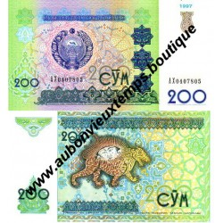 200 SUM 1997 - OUZBEKISTAN