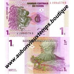 1 CENTIME 1997 - CONGO