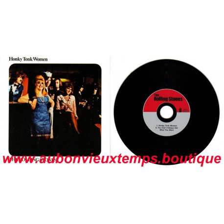 CD ( 45T ) ABKCO - 2005  THE ROLLING STONES - HONKY TONK WOMEN