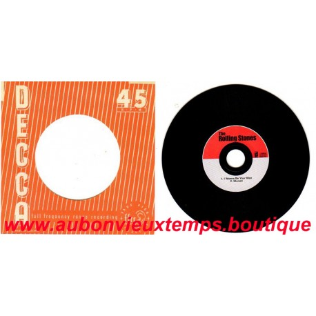 CD ( 45T ) ABKCO - 2004  THE ROLLING STONES - DECCA 45 RPM