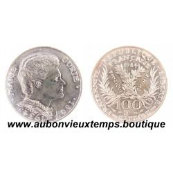 100 FRANCS ARGENT MARIE CURIE - 1984  BU