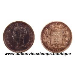 ESSAI 1/2 FRANC ARGENT HENRI V - 1833