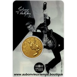 JETON MONNAIE DE PARIS 2020 - JOHNNY HALLYDAY - GUITARE