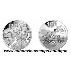 10 EUROS ARGENT MONNAIE DE PARIS 2020 - JOHNNY HALLYDAY - 60 ANS DE SOUVENIRS