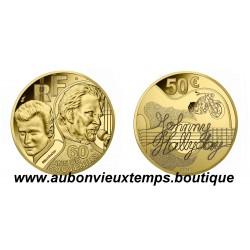 50 EUROS OR MONNAIE DE PARIS 2020 - JOHNNY HALLYDAY - 60 ANS DE SOUVENIRS