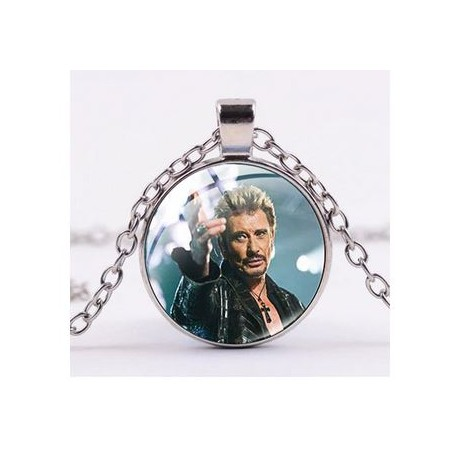 COLLIER avec PENDATIF 2020 - JOHNNY HALLYDAY