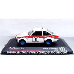 IXO 1/43 1/43 FORD ESCORT RS - RALLYE DU PORTUGAL 1978