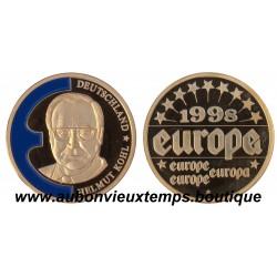 EUROPA COMMEMORATIVE 1998 HELMUT KOHL
