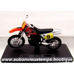 MAJORETTE 1/18 KTM 400 CC SX