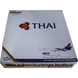 GEMINI JETS 1/400 MC DONNELL DOUGLAS - THAI MD 11