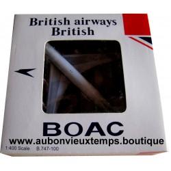 BRITISH AIRWAYS 1/400 BOAC BOEING 747 -100
