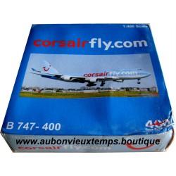 CORSAIR FLY.COM 1/400 B 747-400 F-HSEA