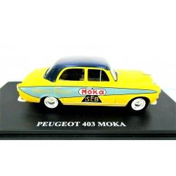 IXO 1/43 PEUGEOT 403 - MOKA SEB