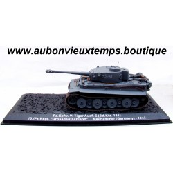 IXO 1/72 Pz.Kpfw. VI TIGER Ausf. E ( Sd. Kfz. 181 ) NEUHAMMER ( ALLEMAGNE ) 1943