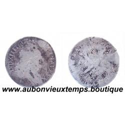 10 SOLS LOUIS XIV 1706 A ARGENT