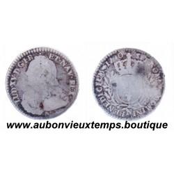 1/10 ECU LOUIS XV 1730 N ARGENT