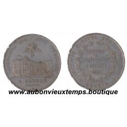 JETON ALU INSTITUT ELECTRO HOMEOPATHIQUE 1891
