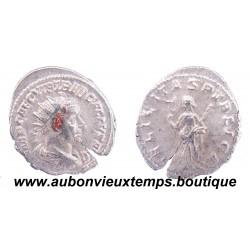 ANTONINIEN ( billon 350 ‰ ) TREBONIEN GALLE 251 - 252 Ap J.C. ROME