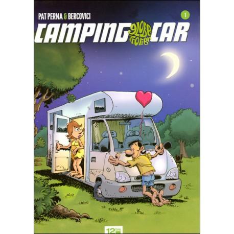 BD CAMPING CAR GLOBE TROTTEUR N°1 ED. 12 bis - 1ère Edition 2008