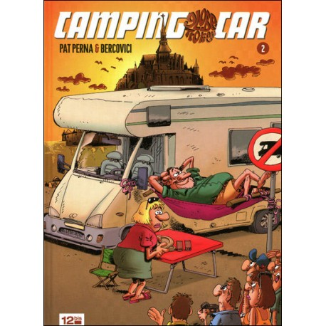 BD CAMPING CAR GLOBE TROTTEUR N°2 ED. 12 bis - 1ère Edition 2008
