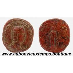 SESTERCE OTACILIA SEVERA 249 Ap J.C. ROME