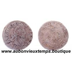 4 SOLS AUX 2 L - LOUIS XIV 1692 V Réformé