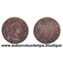 4 SOLS AUX 2 L - LOUIS XIV 1692 9 Réformé