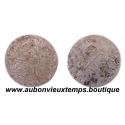 5 SOLS AUX INSIGNES - LOUIS XIV 1702 A Réformé