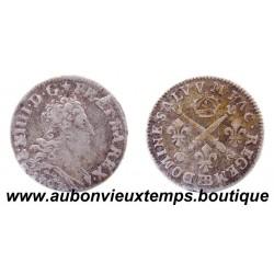 5 SOLS AUX INSIGNES - LOUIS XIV 1703 BB Réformé