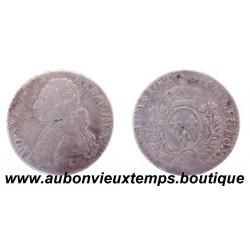 1/10 ECU - LOUIS XVI 1782 A - 1er Semestre
