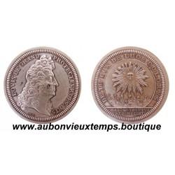 JETON ARGENT - LOUIS XIV SIGNE HB N° 20/500