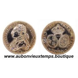 PIEFORT LOUIS d'OR - LOUIS XVI 1777 Reproduction