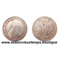 SEXY COINS - ONE DOLLAR 1881 E. PLURIBUS. UNUM