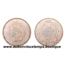 ONE TROY ONCE SILVER .999 HEAD INDIAN LIBERTY