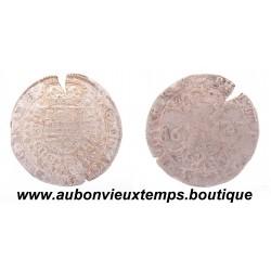 1/2 PATAGON ARGENT PHILIPPE IIII 1625 ANVERS - DUCHE de BRABANT