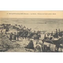 LES SALINES - PECHEURS DE VARECH - BRICQUEVILLE SUR MER 50