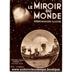 LE MIROIR DU MONDE N°17 - 28.06.1930